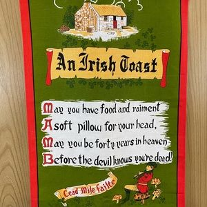 AN IRISH TOAST TAPESTRY BY POLAR